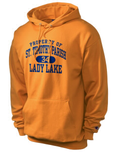 St. Timothy Parish School Lady Lake Champion Men's Hooded Sweatshirt
