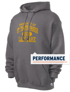 St. Timothy Parish School Lady Lake Russell Men's Dri-Power Hooded Sweatshirt
