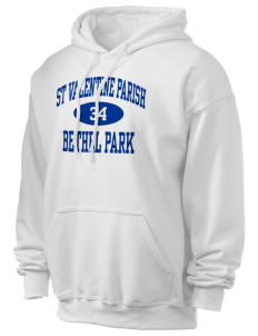 St Valentine Parish Bethel Park Ultra Blend 50/50 Hooded Sweatshirt