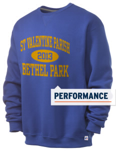 St Valentine Parish Bethel Park  Russell Men's Dri-Power Crewneck Sweatshirt