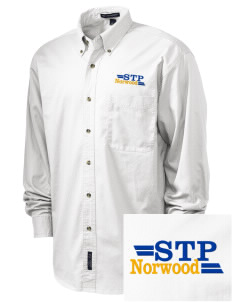 St. Timothy Parish Norwood Embroidered Tall Men's Twill Shirt