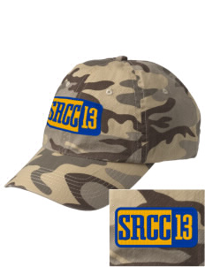 St. Raphael Catholic Church Rockville Embroidered Camouflage Cotton Cap