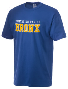 Visitation Parish Bronx  Russell Men's NuBlend T-Shirt