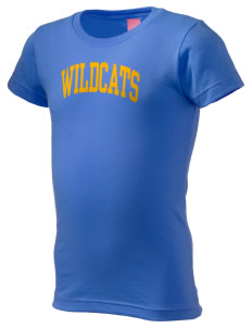 State University of New York Utica Wildcats  Girl's Fine Jersey Longer Length T-Shirt
