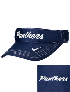 Parkwood Elementary School Panthers Embroidered Nike Golf Dri-Fit Swoosh Visor