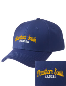 Hawthorn Elementary School South Eagles  Embroidered New Era Adjustable Structured Cap