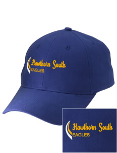 Hawthorn Elementary School South Eagles Embroidered Low-Profile Cap