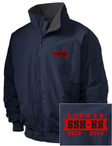 Sheboygan South High - '67 Redmen Embroidered Holloway Men's Tall Jacket