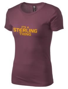 Sterling Middle School Jaguars Alternative Women's Basic Crew T-Shirt