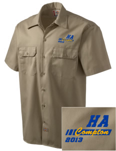 Hope Academy Compton Embroidered Dickies Men's Short-Sleeve Workshirt