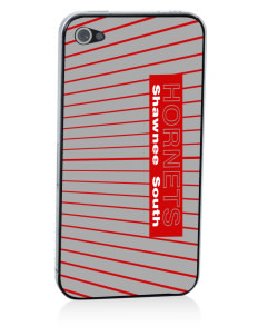 Shawnee Elementary School South Hornets Apple iPhone 4/4S Skin