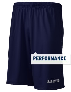 "Peotone High School Blue Devils Holloway Men's Performance Shorts, 9"" Inseam"