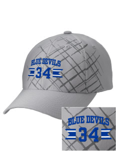 Peotone High School Blue Devils Embroidered Mixed Media Cap