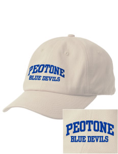 Peotone High School Blue Devils Embroidered Champion 6-Panel Cap