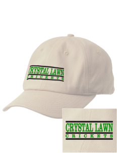 Crystal Lawn Elementary School Crickets Embroidered Champion 6-Panel Cap