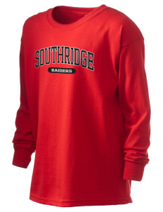 Southridge Middle School Raiders Kid's 6.1 oz Long Sleeve Ultra Cotton T-Shirt