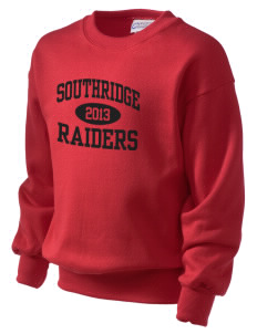 Southridge Middle School Raiders Kid's Crewneck Sweatshirt