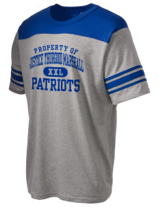 Justice Thurgood Marshall Middle School Patriots Holloway Men's Champ T-Shirt