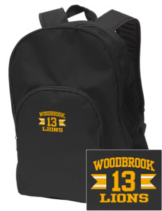 Woodbrook Elementary School Lions Embroidered Value Backpack
