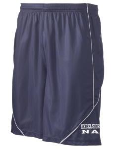 "Excelsior High School na Men's Pocicharge Mesh Reversible Short, 9"" Inseam"