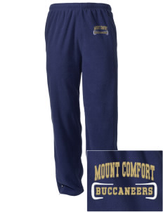 Mount Comfort Elementary School Mounties Embroidered Holloway Men's Flash Warmup Pants