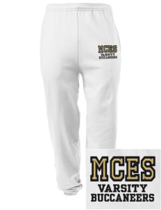 Mount Comfort Elementary School Mounties Embroidered Men's Sweatpants with Pockets