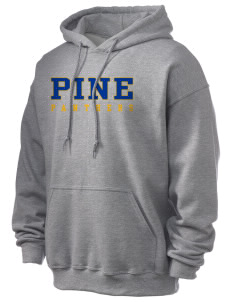 Pine Elementary School Panthers Ultra Blend 50/50 Hooded Sweatshirt