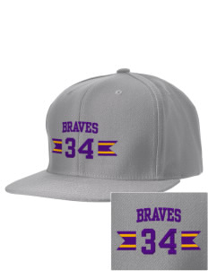 William H English Middle School Braves Embroidered D-Series Cap