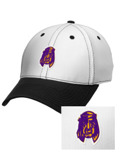 William H English Middle School Braves Embroidered New Era Snapback Performance Mesh Contrast Bill Cap