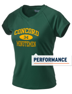Concord High School Minutemen Champion Women's Wicking T-Shirt