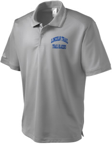 Lincoln Trail Elementary School Trail Blazers adidas Men's ClimaLite Athletic Polo