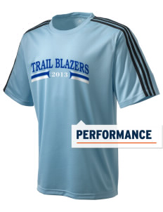 Lincoln Trail Elementary School Trail Blazers adidas Men's ClimaLite T-Shirt