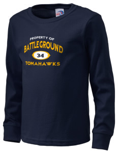 Battle Ground Middle School Tomahawks  Kid's Long Sleeve T-Shirt