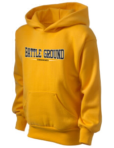 Battle Ground Middle School Tomahawks Kid's Hooded Sweatshirt