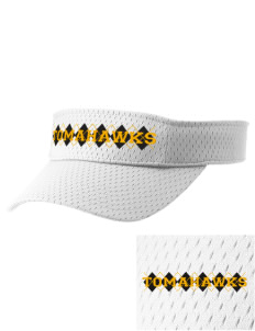Battle Ground Middle School Tomahawks Embroidered Woven Cotton Visor