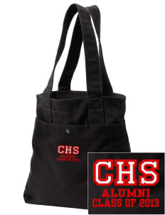 Centerville High School Big Reds Embroidered Alternative The Berkeley Tote