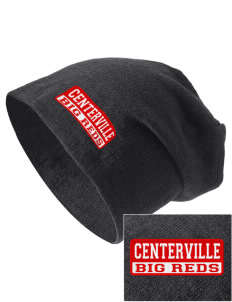 Centerville High School Big Reds Embroidered Slouch Beanie