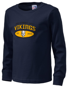 Lincoln Intermediate Center Vikings  Kid's Long Sleeve T-Shirt