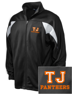 Tripoli Junior & Senior High School Panthers Embroidered Holloway Men's Full-Zip Track Jacket