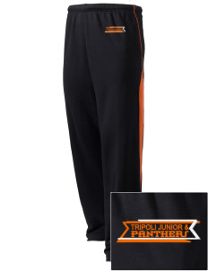 Tripoli Junior & Senior High School Panthers Embroidered Holloway Men's Pivot Warm Up Pants