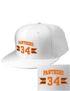 Tripoli Junior & Senior High School Panthers Embroidered Diamond Series Fitted Cap
