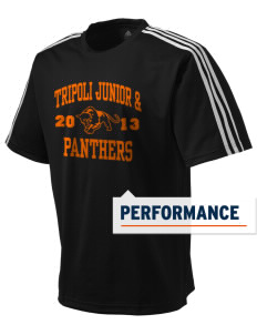 Tripoli Junior & Senior High School Panthers adidas Men's ClimaLite T-Shirt