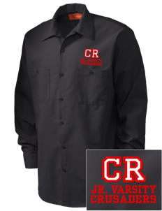 Coon Rapids-Bayard Elementary School Crusaders Embroidered Men's Industrial Work Shirt - Regular