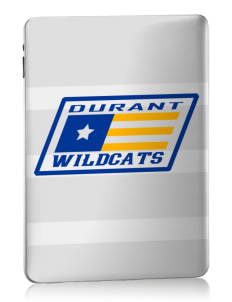 Durant High School Wildcats Apple iPad Skin