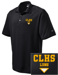 Clear Lake High School Lions Embroidered Nike Men's Dri-Fit Classic Polo