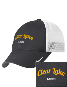 Clear Lake High School Lions Embroidered Nike Golf Mesh Back Cap