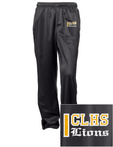Clear Lake High School Lions Embroidered Women's Tricot Track Pants