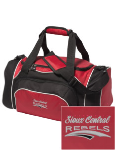 Sioux Central Junior High School Rebels Embroidered Holloway Duffel Bag