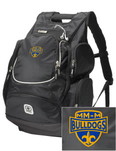 MFL MarMac School - McGregor Center Bulldogs  Embroidered OGIO Bounty Hunter Backpack