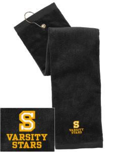Starmont Elementary School Stars Embroidered Hand Towel with Grommet